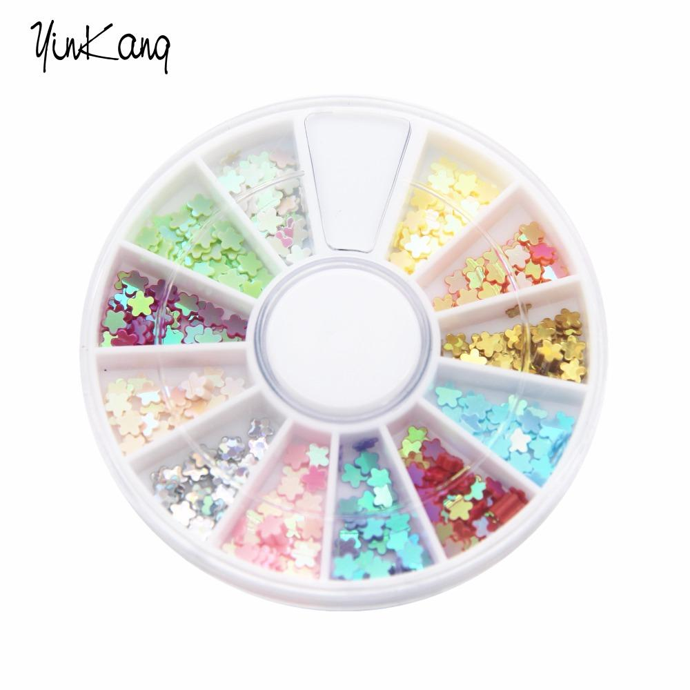 Wholesale New Arrival Flower Shaped Nail Decoration Nail Art ...