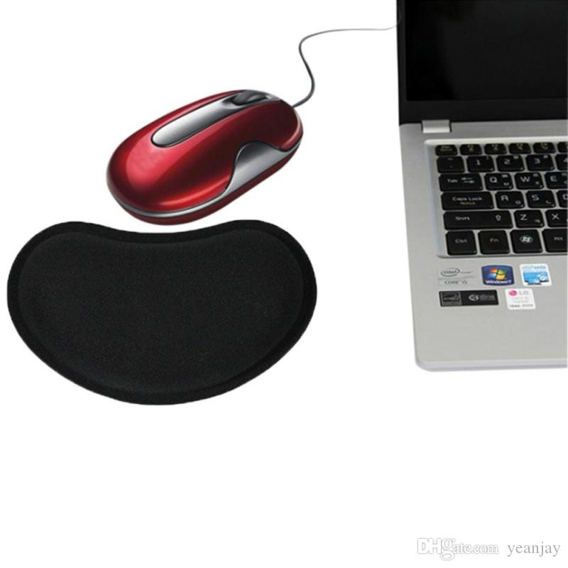 Gaming Mouse Pad With Comfort Memory Sponge Wrist Rest Support Mouse Pad Soft Hand Pillow Mat