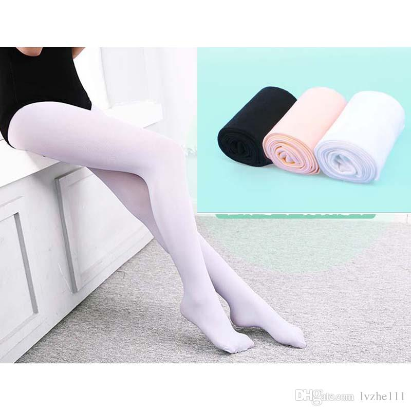 New Girls Kids Ballet Gymnastics Dance Tights Stockings Pantyhose Socks YW