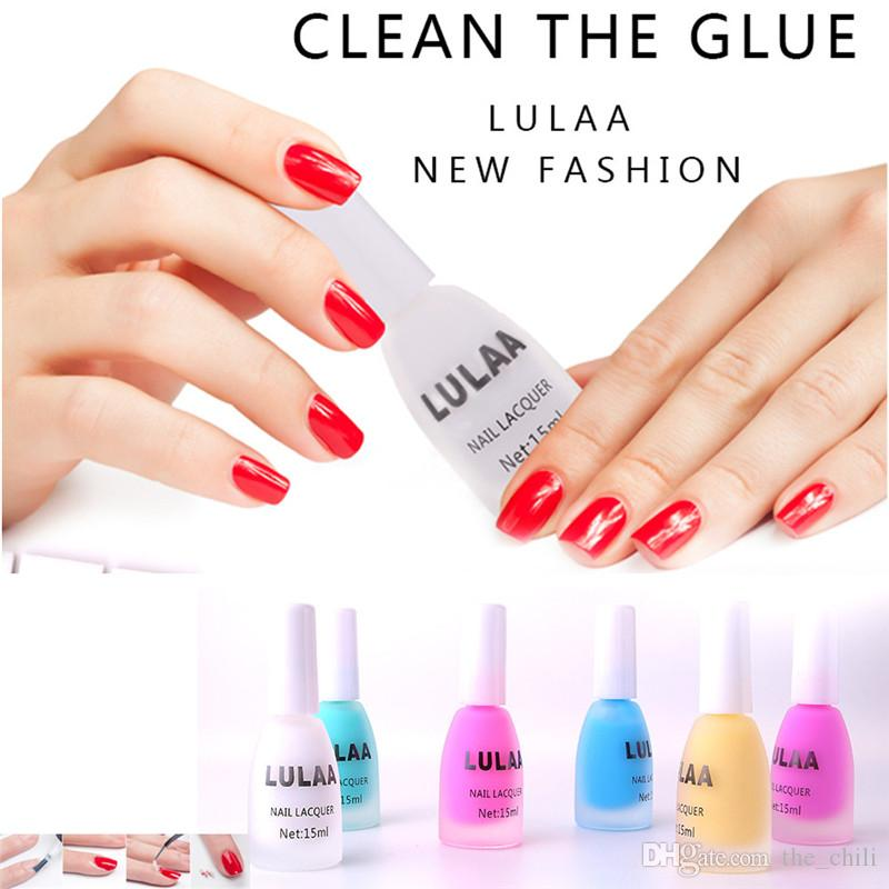 Lulaa Nail Polish Peel Off Liquid Tape Peel Off Base Coat Nail Art ...