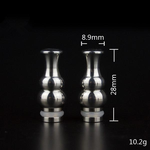 Stainless steel metal drip tips for choose EGO 510 drip tip drip tips for RDA RBA mods mod atomizer clearomizer can mix type