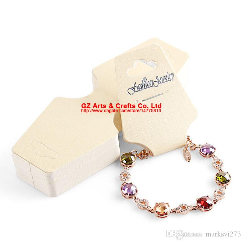 English Letter Fashion Jewelry Necklace Bracelet Card Jewelry Packaging & Display Cards Popular DIY Accessories Findings Necklace Holder