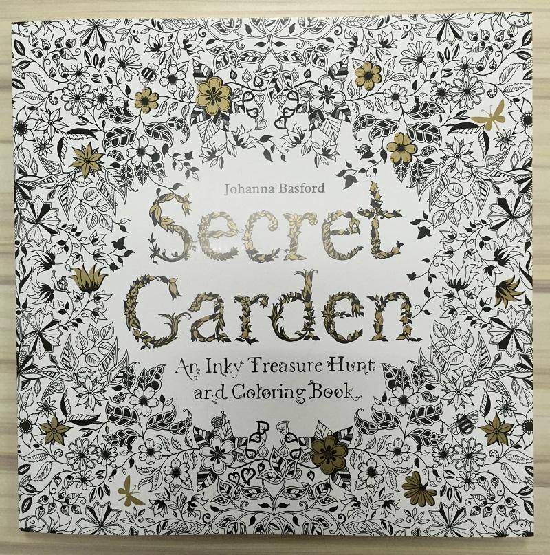 Secret Garden Lost Ocean Inky Treasure Hunt And Coloring Book For Children Adult Relieve Stress Painting Drawing Printouts