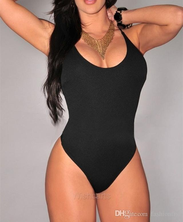 08e70238f49a1 Newest Summer Women'S Swimsuit One Piece Monokini Sexy Big Ass O Neck  Halter Cross Bikini Swimwear Bathing Suit NZ 2019 From Fashionfist, NZ  $12.58 | DHgate ...