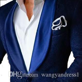 Мода на заказ красивый свадебные костюмы смокинги официальные костюмы бизнес носит Slim Fit Blazer Groomsman костюмы куртка + брюки