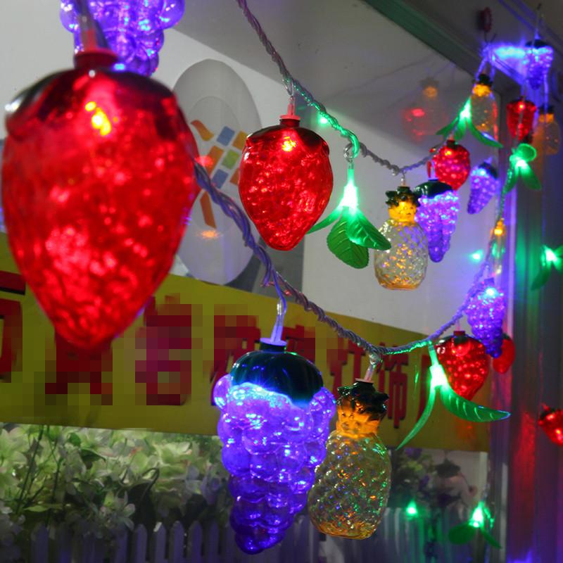 Wholesale big size fruit shape 10m led string ball lights curtain wholesale big size fruit shape 10m led string ball lights curtain garland lamps fairy wedding garden outdoor christmas holiday lighting patio light strings mozeypictures Gallery