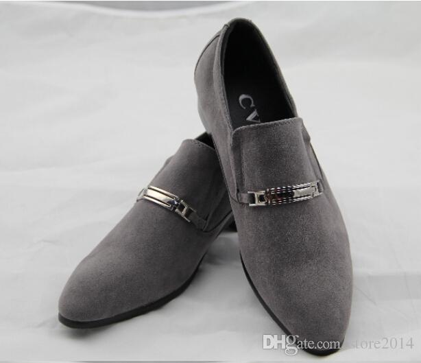 NEW classic Men's wedding shoes Mens leather shoes Unique men casual shoes 35p
