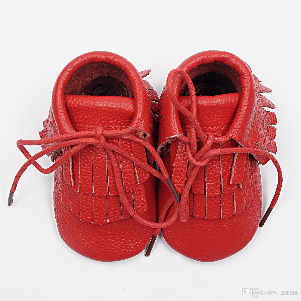 vendita al dettaglio del bambino in vera pelle doppia nappa avvio stili di moda infantili mocassini stivaletti bambini scarpe morbide Toddler regalo di compleanno