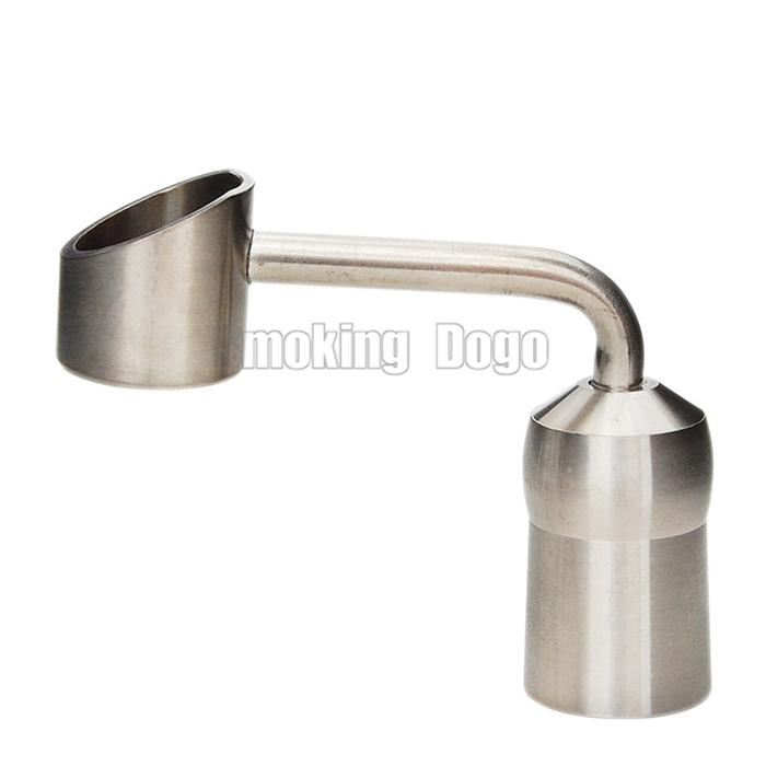 Smoking Dogo 2018 Latest Titanium Domeless Banger Nail With 18.8mm Female Joint Fits Glass Water Bongs and Oil Rigs Titanium Nail