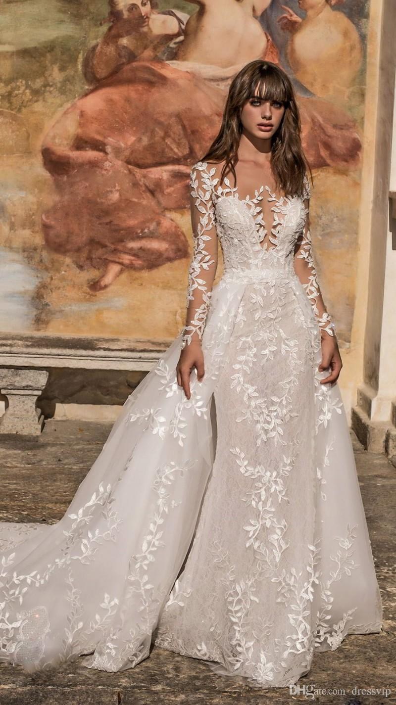 b586fce46aff Long Sleeved Wedding Gowns, Bridals Dress with Sleeves - June .