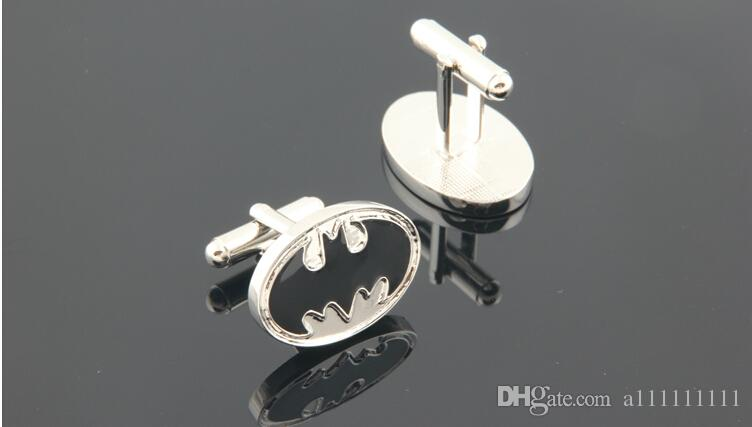 Nueva declaración de lujo Gemelos Superhéroe Marvel Comic Batman Gemelos Novedad Gemelos Accesorios Gemelos de la boda