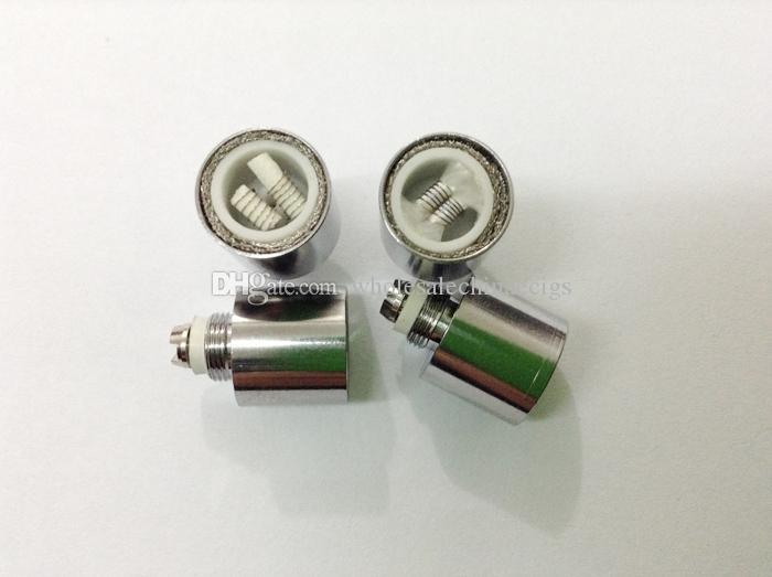 Dual wax coils for cannon vaporizer Glass Globe atomizer vape double dual coil Ceramic rod wax Glass metal vase cartomizer vaporizer