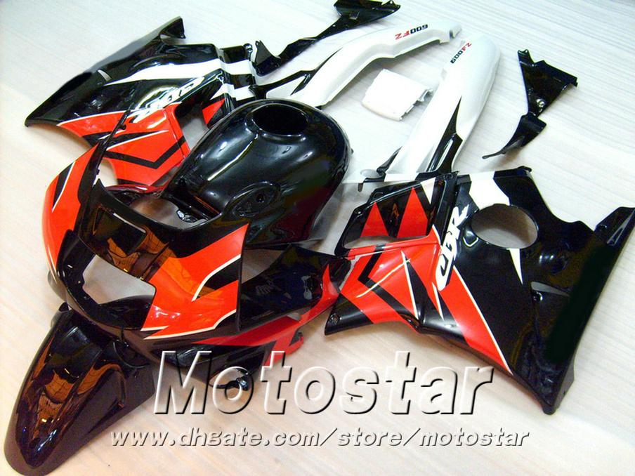 Free 7 Gifts for HONDA CBR 600 F2 custom fairings 1991 1992 1993 1994 black white red CBR600 91 - 94 fairing kit RP4