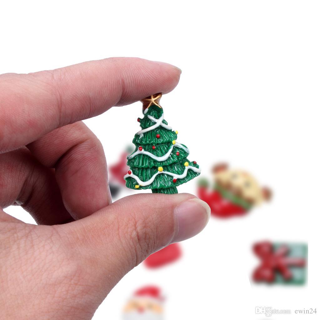 Рождество магниты на холодильник стикер мультфильм аниме 3D холодильник стикер украшения Пастер украшения дома магнитные наклейки 10 шт. / упак.