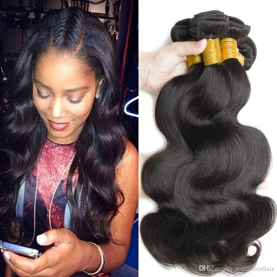 Best Quality Peruvian Body Wave Hair Natural Colour Wet And Wavy