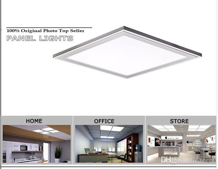 luz do painel de LED 300 * 300 600 * 300 600 * 600 * 1200MM 300 milímetros 20W 30W 50W 72W luzes recesso levou luminárias luzes do painel de teto Hi-Bright Light 1010