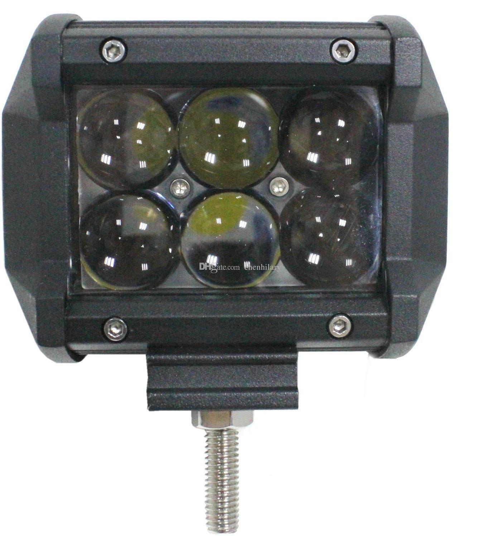 30W Osram LED Light Bar fuoristrada 12V 24V Spot / Flood 4D 4x4 Auto SUV Offroad Truck ATV Moto DRL LED BAR Driving Light