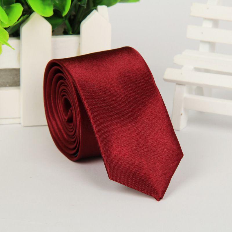 Moda cravatta da uomo versione stretta NeckTie 5 * 145 centimetri i cravatta professionale la festa del papà cravatta da uomo da uomo regalo di natale dhl gratis
