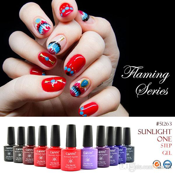 51263x canni nail art design wholesale sunlight one step uv gel see larger image prinsesfo Choice Image