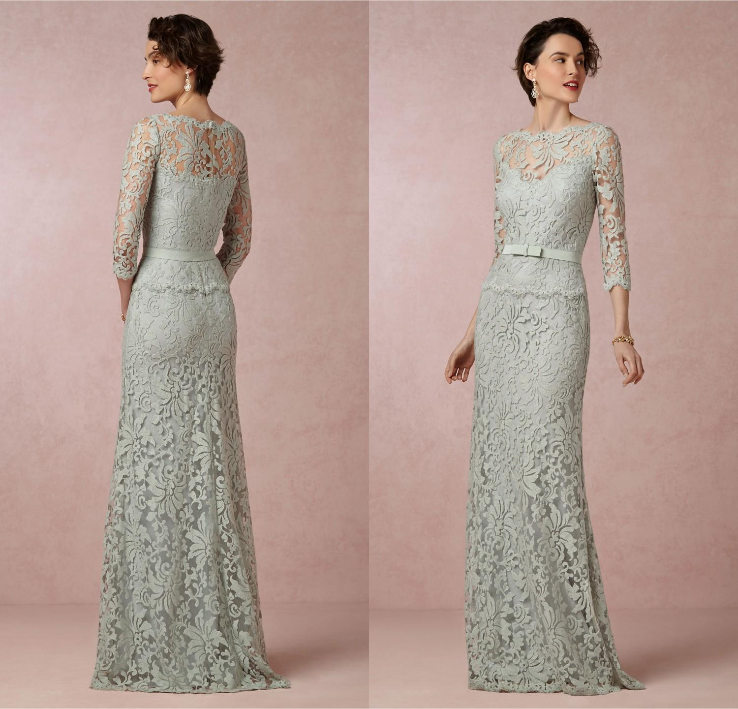 Stunning Mother Of The Bride Dresses: Most Beautiful Mother Of The Bride Lace Dresses 2015 From