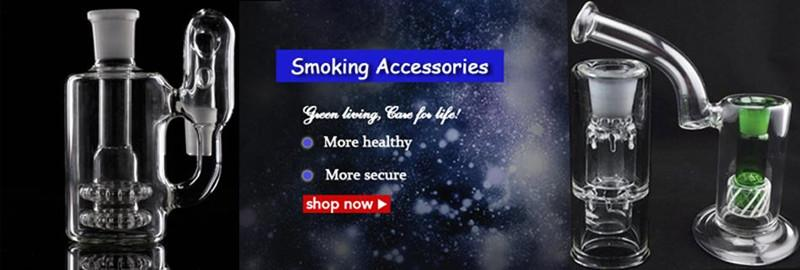 Domeless Ceramic Nails Male or Female Joint Ceramic Nail with Carb Cap VS Titanium Quartz Nail for Glass Smoking Accessories
