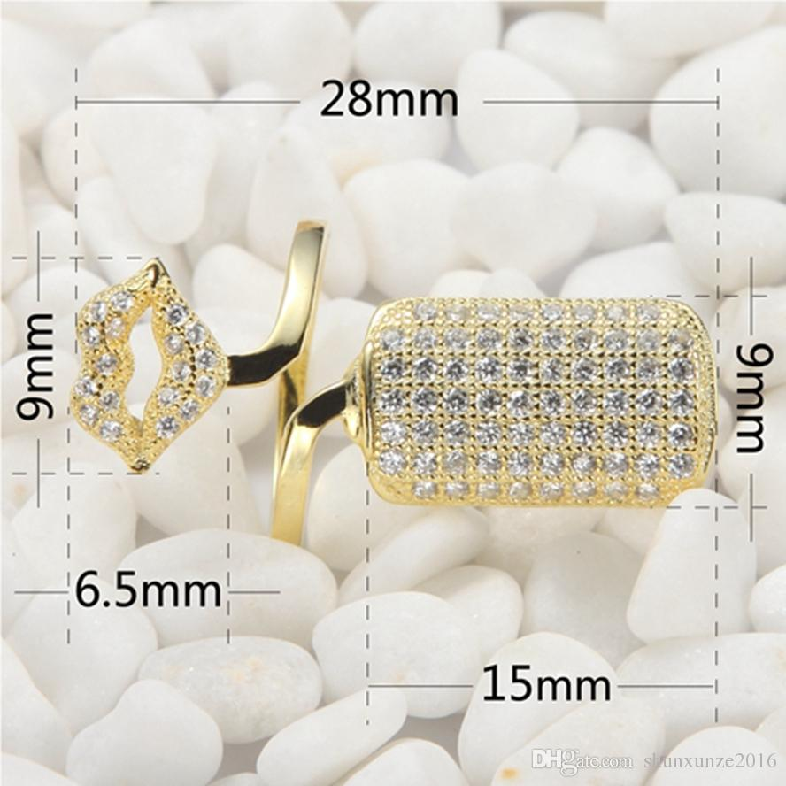 925 sterling Silver Noble Generous Nail ring SS-3766 Rave reviews The new product Shinning White Cubic Zirconia Wholesale Best Sellers Rock
