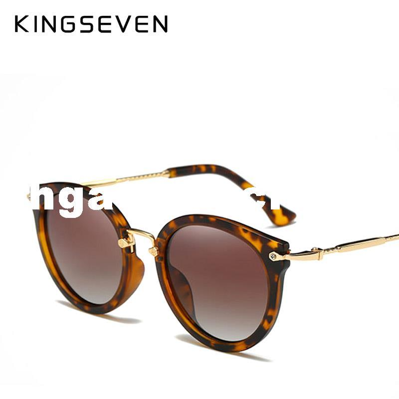 dbb4b489c4 Compre 2017 Gafas De Sol Mujer Lente Espejo Señoras Diseñador De La Marca De  Lujo Moda Gafas De Sol Polarizadas KINGSEVEN Eyewear Retro Con Estuche A  $29.56 ...