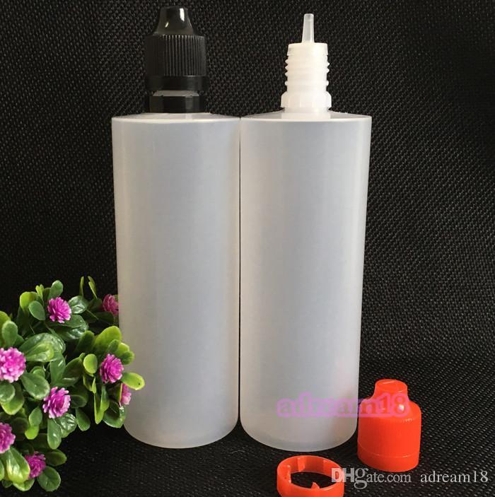 2016 PE garrafa conta-gotas de plástico / CTN 120 ml e garrafa de líquido com tampa à prova de crianças e adulteração da China frete grátis DHL