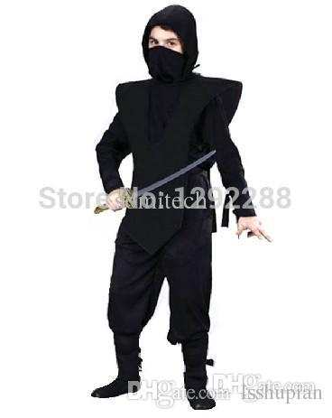 Wholesale Halloween Cosplay Clothes Black Child Ninja Costumes For Kids Halloween Party Decorations Child Performance Wear Naruto Cosplay Costume Halloween ...  sc 1 st  DHgate.com & Wholesale Halloween Cosplay Clothes Black Child Ninja Costumes For ...