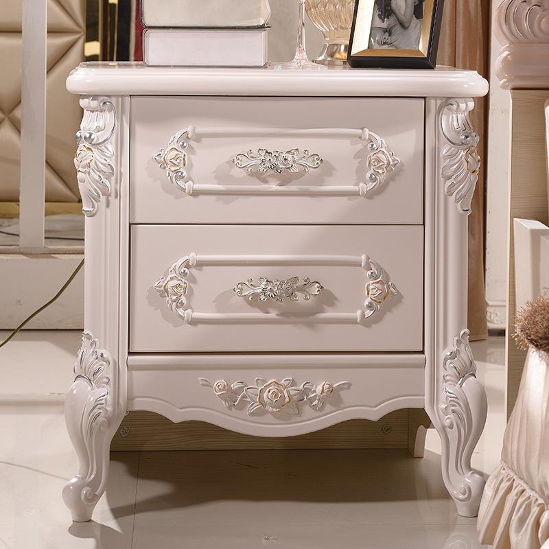 Cheap Matching Furniture White Bedroom Nightstand Plate Storage Boxes  Manufacturer Outlets