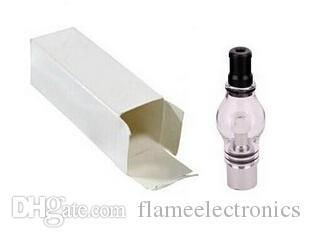 Супер лампа атомайзер воск стеклянный купол стеклянный шар приложение стекло Pyrex стекло для eGo T батареи E сигареты сухой травы воск испаритель