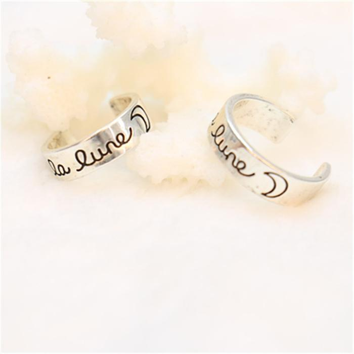 Silver Plated Cluster Rings for Women Fashion Cluster Rings Cute Cluster Rings New Arrival for Sale5