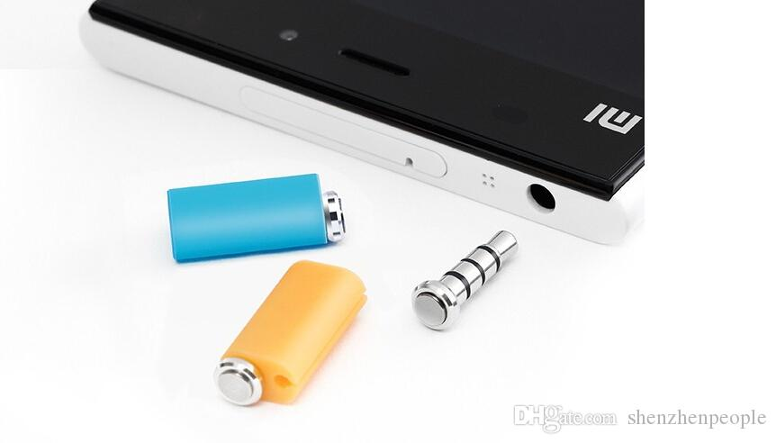 Оригинал Xiaomi Mikey Mi Key Смарт-Быстрая кнопка одним щелчком мыши Вспомогательная кнопка Гаджет Кнопка 3,5 мм Разъем для наушников Пылезащитный штекер с розничной упаковке