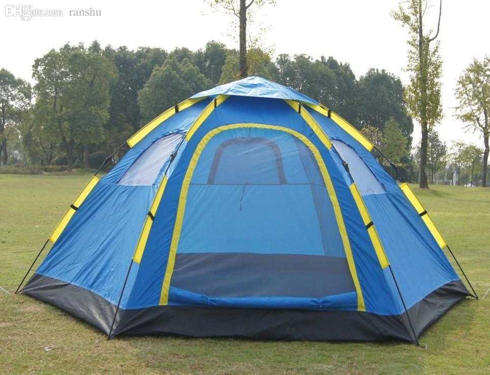 34 & Wholesale Automatic Portable Tents 6 8 Person Single Tier ...