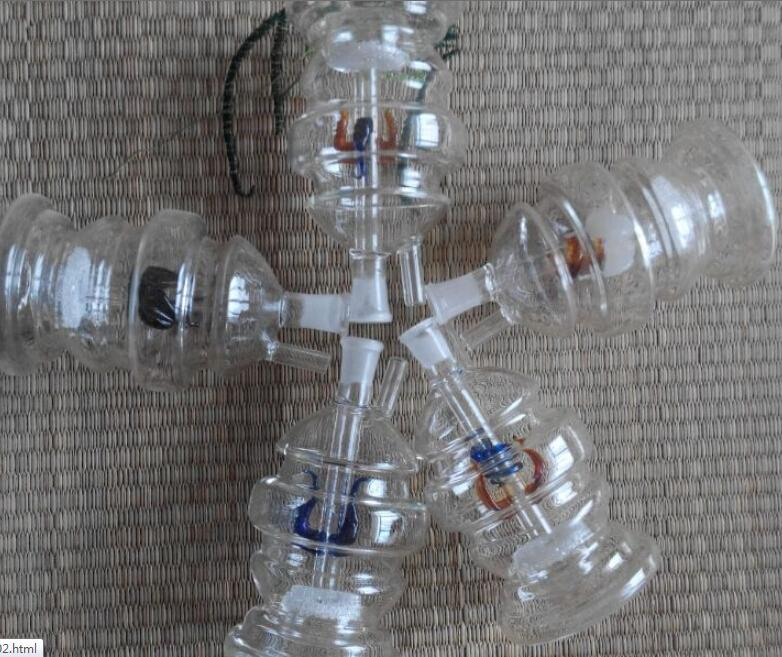 Бесплатная доставка по всему миру водопроводные трубы фитинги стеклянные кальяны фильтры 10 шт. / лот
