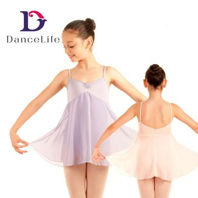 d0ab8638a Child Long Chiffion Skirted Dress C2138 Wholesale Ballet Dance Dress ...