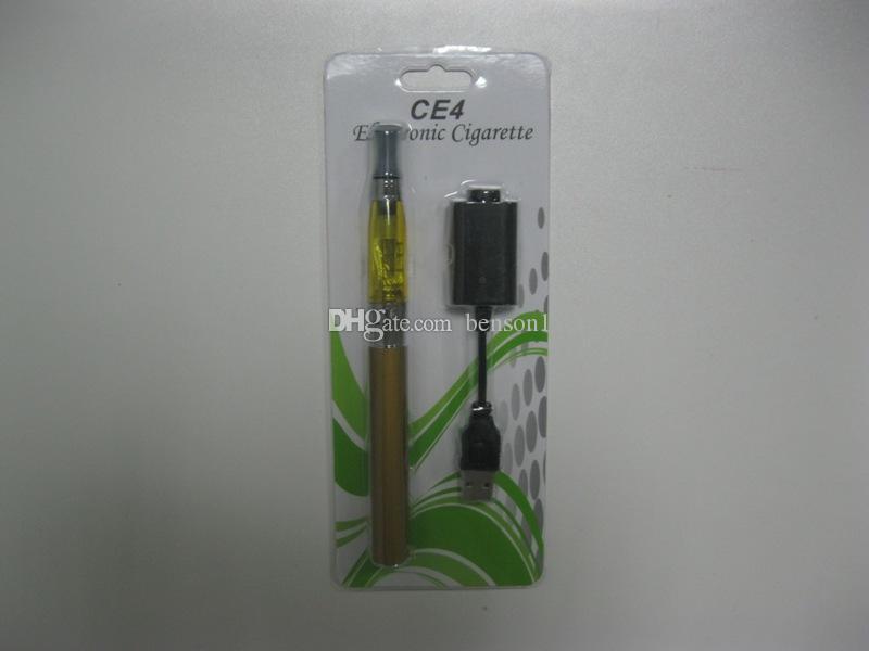 Colorfull EGo CE4 Blister kit electronic cigarette starter kits with ce4 atomizer 650 900 1100 mAh ego t battery VS EVOD mini protank 2 kit