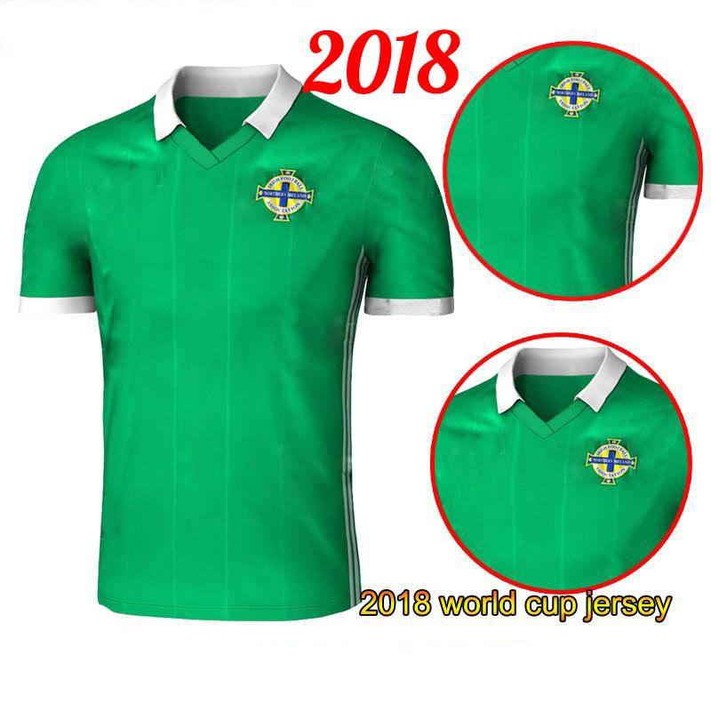 2019 2018 World Cup Jersey Camiseta De Futbol Northern Ireland Soccer  Jerseys Tuaisceart Eireann Football Shirts McNAIR K.LAFFERTY DAVIS Jersey  From ... 44b788718