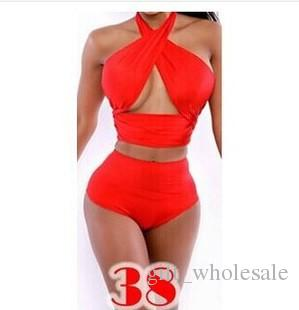 2015 sexy underwear vintage swimwear for women covered Belly Bikini swimsuit Beach swim dresses Bathing Monokini link fashion M L XL