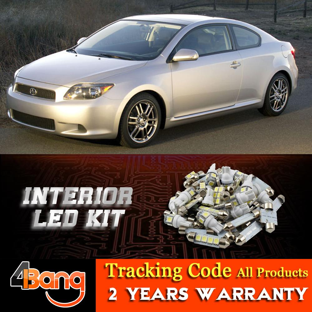 2018 For 2005 2007 Scion Tc Car Interior Led Kit Dome Map Step Courtesy  License Plate Number Tag Side Door Light From Banggoodmall, $18.32 |  Dhgate.Com