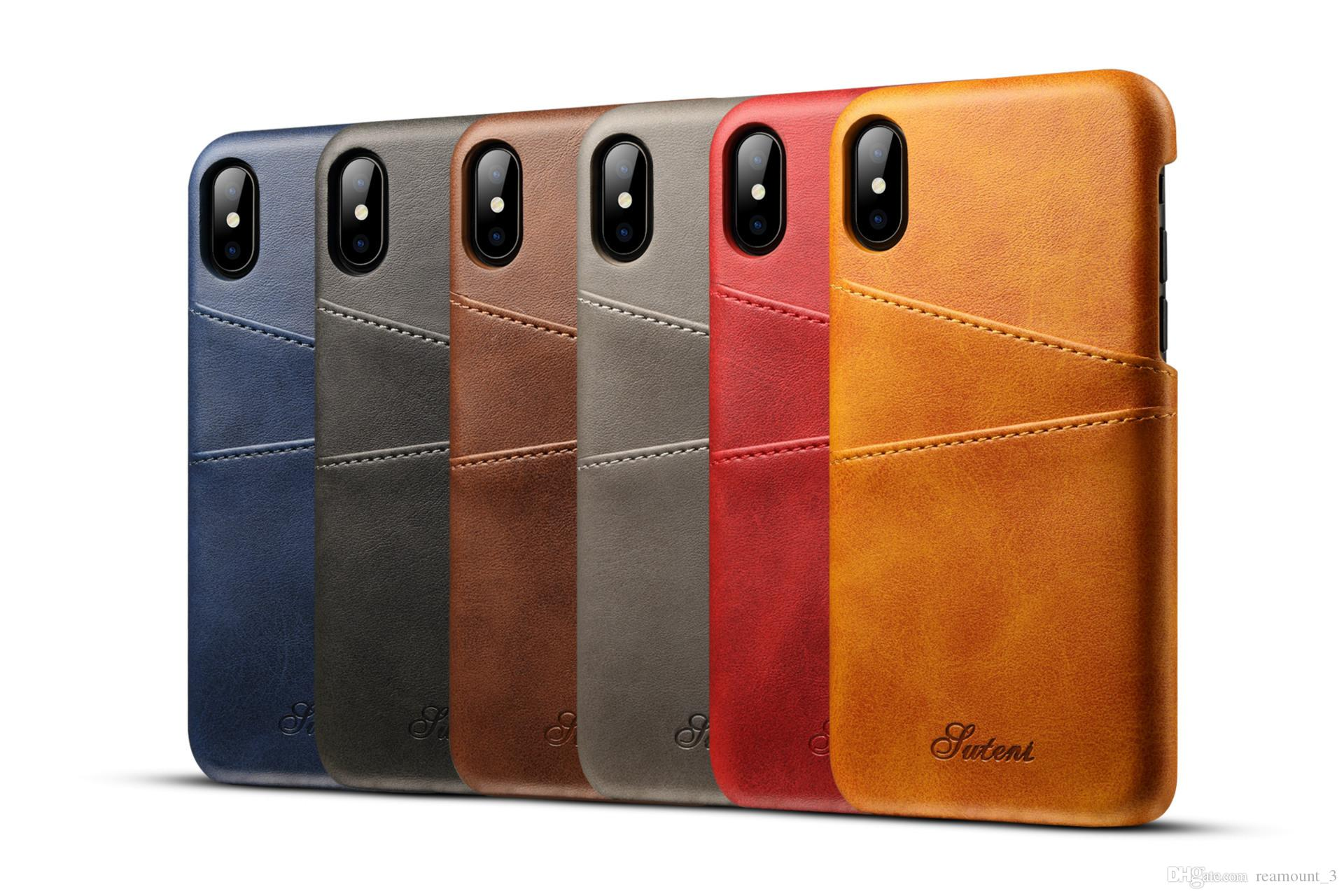 custom logo case for iphone 8 8 plus 7 7 plus cover leather luxurycustom logo case for iphone 8 8 plus 7 7 plus cover leather luxury wallet card slots back capa for iphone 7 8plus cases fundas custom cell phone cases