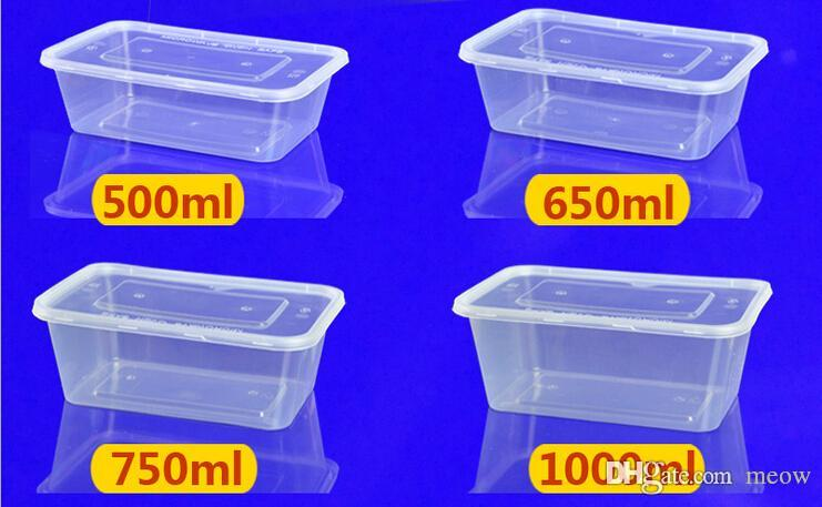 2019 Food Storage Box Take Away Food Transparent Stackable Plastic  Microwavable Dishwasher Safe Food Box With Lid PP Material From Meow,  $137.49 | DHgate.