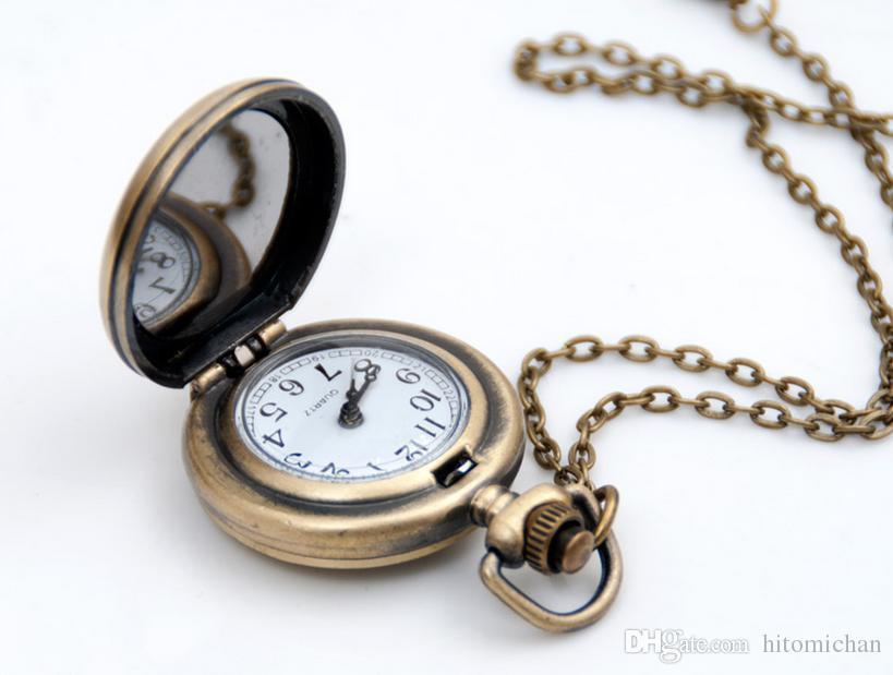 Оптовая 10 шт. мода уникальный дизайн дизайн очаровательный Париж Эйфелева башня женщина ожерелье карманные часы