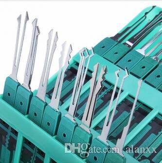 Klom 32 Peças Lock Pick Ferramentas Hook Set Lock Ferramenta Locksmith Abridor