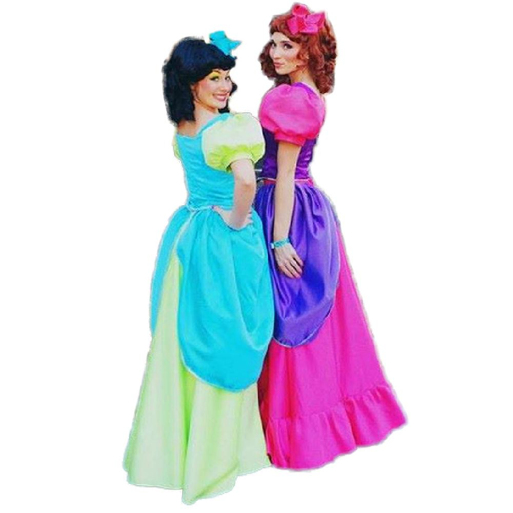 Cinderella Party Adult Halloween Costume For Women Evil Sisters ...