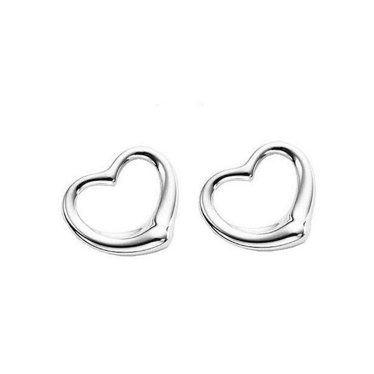 2019 925 Silver Heart Stud Earrings For Women High Grade Fashion Heart  Earrings Jewelry Hot Selling 8167 From Sheffi0523 da840efa56b6