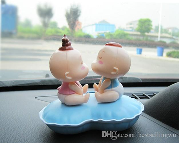 New Arrival Car Accessories Interior Solar Kiss Baby Dancing ...