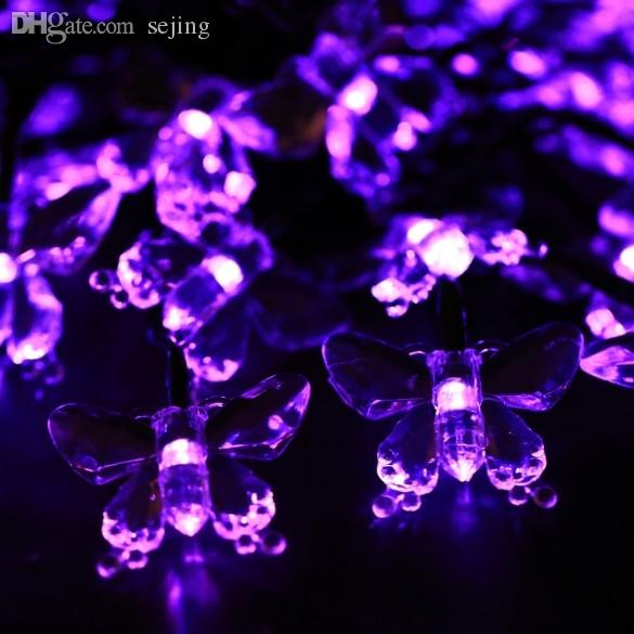 Wholesale led christmas lights new solar powered room outdoor patio wholesale led christmas lights new solar powered room outdoor patio garden home party decoration 40 string led christmas lights new year cheap string lights aloadofball Gallery