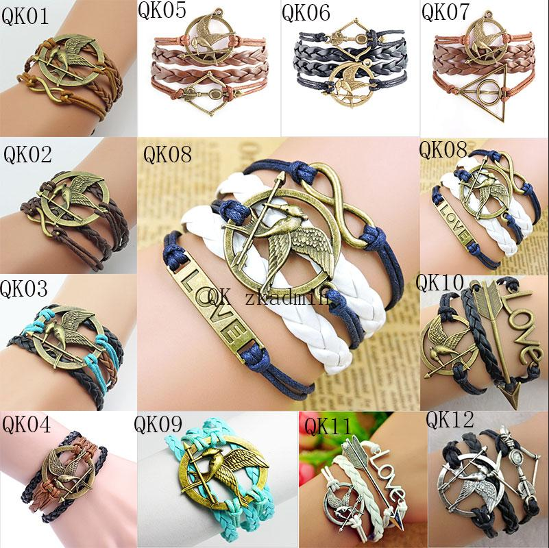7ec205f942 Handmade Black I Love One Direction 1D Infinity Charm Bracelets And Bangles  Jewelry Gift Items For Women And Men Hy1018 Childrens Charm Bracelet  Leather ...