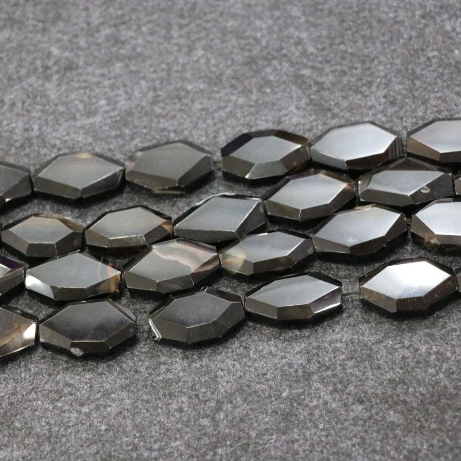 /1Strand Black Druzy Agate Gemstone Beads, Natural Slice Slab Drusy Druzy Agate Necklace Pendant Connector Jewelry Make Wholesale Price